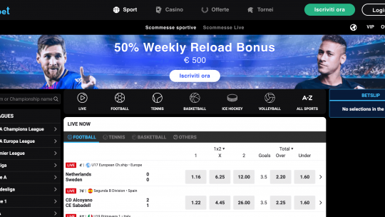 Librabet scommesse sportive online, operatore top per il live betting